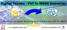 A PST to MBOX Converter can Save You a Lot of Hassle