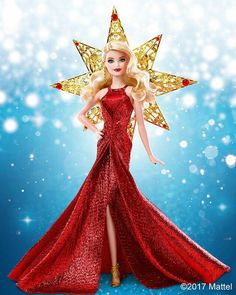 The tradition continues with the 2017 Holiday Barbie Doll! Barbie Sets, Barbie Dolls, Barbie Movies, Doll Costume, Costumes, Every Girl, Fashion Dolls, Aurora Sleeping Beauty, Girls Dresses