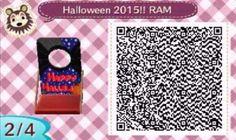 Este es un QR Code para Animal Crossing, creado por mí; como podéis observar, es un panel para fotos con la temática de Halloween. [2-4]  Lo podéis encontrar en mi canal de YouTube: https://www.youtube.com/channel/UCh6uwa2CjSgR4WQ-ghRQY6Q (Roxy).  ¡Espero qué os guste! ;)