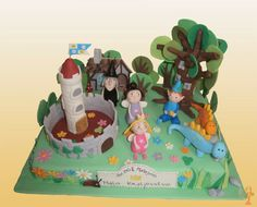 Make me a cake Ben and Holly's Little Kingdom cake