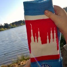 Washington DC LDS Temple Socks.