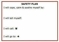 Worksheets Safety Plan Worksheet pinterest the worlds catalog of ideas safety plan