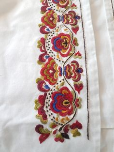 FINN – Dronning Sonja skjorte til Beltestakk/Øst Telemark ubetydelig brukt kr Hand Work Embroidery, Embroidery Patterns, Hardanger Embroidery, Cross Stitch Embroidery, Norwegian Clothing, Scandinavian Embroidery, Rosemaling Pattern, Sewing Pockets, Bookmark Craft