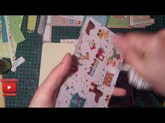 Tutorial. Album. Scrapbooking. Part 5 - YouTube