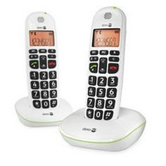 Doro PhoneEasy® 100w amplified cordless duo