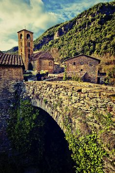 Place: #Beget / #Catalonia, #Spain. Photo by Unknown