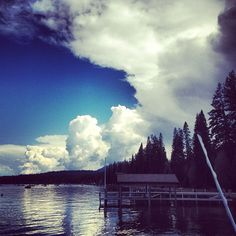 Possible #thunder #storm brewing #homewood #laketahoe #westshore #tuesday #almostsummer #clouds #instagram #webstagram
