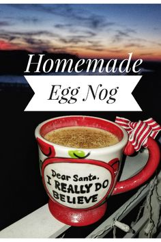 """Homemade Egg Nog Inspired by """"Ace of Cakes"""" and Christmas in August"""