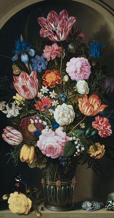 Ambrosius Bosschaert, Bouquet de fleurs dans une niche de pierre http://casaprints.com/fr/145-ambrosius-bosschaert