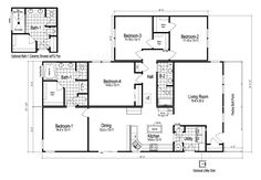 Palm Harbor's Wilmington II 4 Bedroom is a manufactured home of 2,130 Sq. Ft. with 4 bedroom(s) and 2 bath(s). Palm Harbor's Discovery Homes by Nationwide. Full front porch. Island in kitchen.