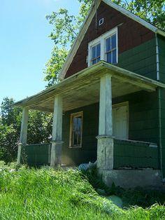 Old Farm House & It's Porch