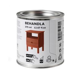 BEHANDLA Glazing paint, red-brown red-brown -