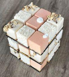 Mini Cakes, Cupcake Cakes, Wedding Sweets, Wedding Cakes, Chocolate Mousse Cake, Fancy Desserts, Cake Images, Wedding Cake Inspiration, Cake Decorating Tutorials