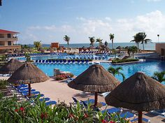 Moon Palace-Cancun, Mexico. I loved staying here for our honeymoon! Can't wait to go back someday!