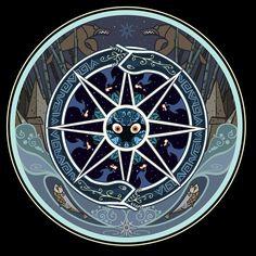 The Secret Of Kells Mandala by KevinCease. Tattoo ideas