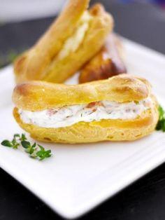 Minis éclairs salés - Recette de cuisine Marmiton : une recette