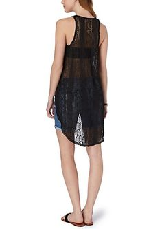 image of Lace High-Low Tank