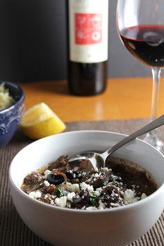 Greek Lamb Stew and Wine Pairing for Wine Pairing Weekend. #winePW #wine