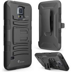 Galaxy Active Case, i-Blason Prime Series Dual Layer Holster Case with Kickstand and Locking Belt Swivel Clip for Samsung Galaxy Active [Will Not Fit the Regular Galaxy (Black) Samsung Galaxy S5 Black, Cheap Accessories, Galaxies, Cell Phone Accessories, Smartphone, Belt, Cases, Mobile Office, Drop
