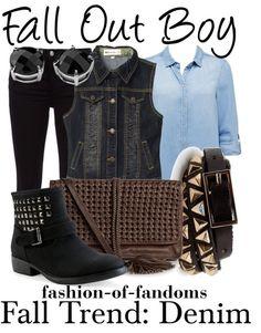 Fandom Fashion- Fall Out Boy