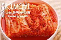 Josephine's Recipes : How to make Kimchi 正宗韓國泡菜 Korean Food Kimchi, Glutinous Rice Flour, Kimchi Recipe, Asian Snacks, National Dish, Seasoning Mixes, Fish Sauce, Easy Cooking, Vegetable Recipes