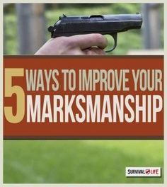 5 Steps for Better Rifle Marksmanship   Gun Shooting Skills Tips & Ideas by Survival Life at http://survivallife.com/2015/04/01/5-steps-for-better-marksmanship Survival Life, Survival Skills, Outdoor Activities, Outdoor Survival, Firearms, Traveling, Gun, Tips, Survival Equipment