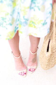 Nude Zara Heel, Perfect Summer Heel