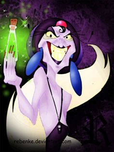 Yzma 4ever by rebenke.deviantart.com on @deviantART
