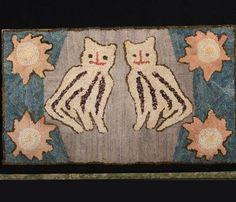 hooked rug c.1920