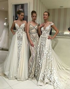 Gorgeous detailed wedding dresses
