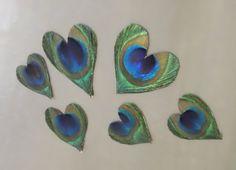 SALE+Peacock+Feather+Wedding+Favor+Magnets++100+por+CherubinoCrafts,+$195.00