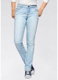 Jean extensible skinny, John Baner JEANSWEAR, dark denim used