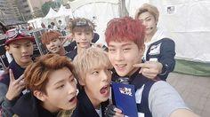 MonstaX Shownu, Jooheon, Kihyun, Won Ho, Hyun Woo, Monsta X, Kpop, Couple Photos, Instagram Posts