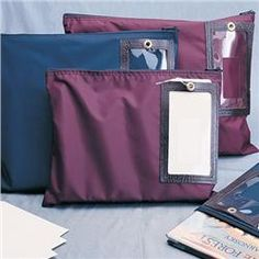 75a9191d9499 Nylon Book Mailing Bags with Cut-Out Address Window