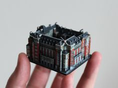 Church Commissioners Office Westminster 5 x 4 by Ittyblox on Shapeways 3d Printing Technology, Houses Of Parliament, Westminster, Architecture Design, Miniatures, Thing 1, Prints, Metals, Scale