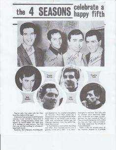 The Four Seasons Bob Gaudio, Tommy Devito, Frankie Valli, Jack Benny, Jersey Boys, Vintage Hollywood, Reality Tv, Four Seasons, Musica