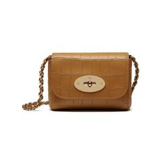 Mulberry Camel Deep Embossed Croc Print