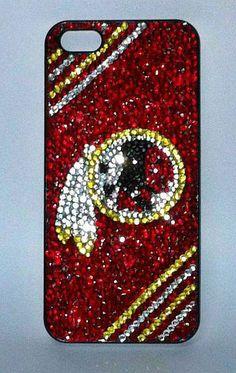 Washington Redskins Rhinestone iPhone Case by PhoneDazzle on Etsy
