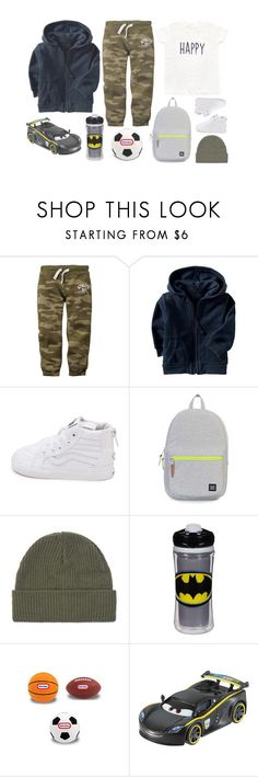 """Davi"" by iarsotelo ❤ liked on Polyvore featuring beauty, Old Navy, Vans, Herschel Supply Co., Playtex and Disney"