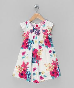 Flower & Frill Dress - Toddler & Girls by Cutey Couture | £14.99