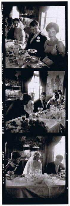 *EDWARD M. KENNEDY ~ Wedding reception