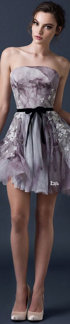 Paolo Sebastian 2015 COUTURE Couture 2015, Couture Fashion, Pretty Dresses, Beautiful Dresses, Dress Skirt, Dress Up, Short Dresses, Prom Dresses, Foto Real