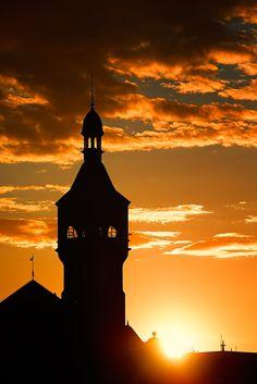 Sopot sunset light by Marek Czaja on 500px