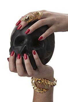 Fashion Bug Women Plus Size: Fashion Bug Jewelry: Kasun London Gold Plated Croc Bangle #British #UK #PlusSize #FashionBug #Jewelry