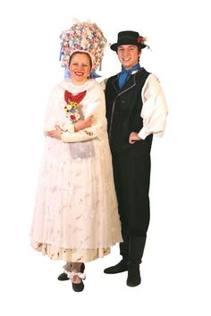 Tradicional costume from Poznań Folk Costume, Costumes, Polish People, Pro Shot, Poland, Harajuku, Fashion, Moda, Dress Up Clothes