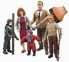 christmas story figures - Google Search
