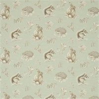 Sanderson - Traditional to contemporary, high quality designer fabrics and wallpapers | Products | British/UK Fabric and Wallpapers | Squirrel & Hedgehog (DWOW225522) | Woodland Walk