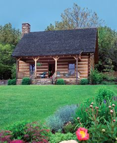 Small Cabins - THIS! this is what I want it to look like on the outside!