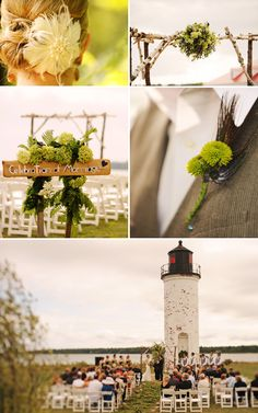 lighthouse Wedding.. probably would be the best idea ever
