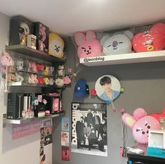 Creating an Army Bedroom Army Decor, Army Room Decor, Bedroom Decor, Army Bedroom, Kawaii Room, Kpop Merch, Aesthetic Room Decor, Decorate Your Room, Room Tour